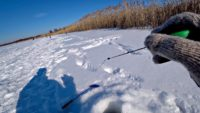 Рыбалка на реке со льда в глухозимье - Рыбалка 68