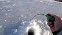 Щедрый лёд на реке - Рыбалка 68