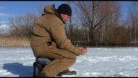 Ловля плотвы в марте со льда - Рыбалка 62
