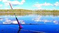 Ловля карася на лесном пруду - Павел Теплов