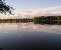 В условиях сброса воды