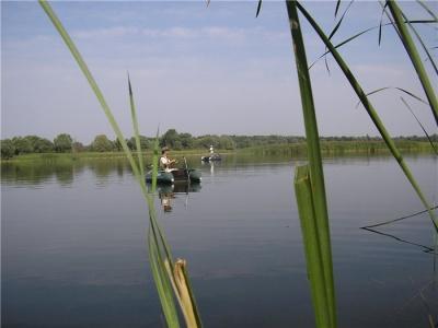 Рыбалка на водохранилище