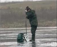 """Видео """"Диалоги о рыбалке"""" - Ахтуба. Ловля плотвы зимой"""