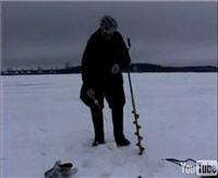 """Видео """"Диалоги о рыбалке"""" - Подмосковье. Первый лед. Окунь"""