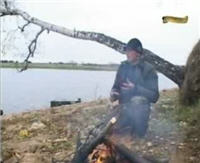 Видео «Клёвое место» — Рузское водохранилище, Осень