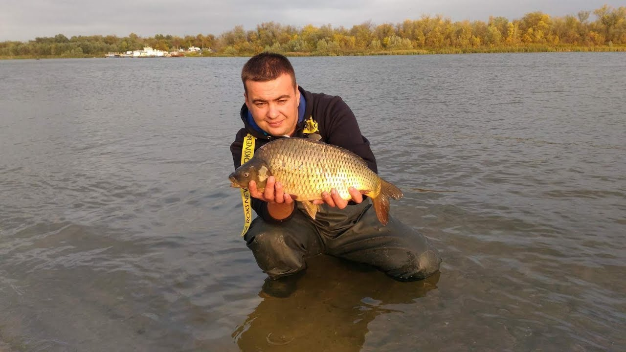 Рыбалка на реке зеркальной
