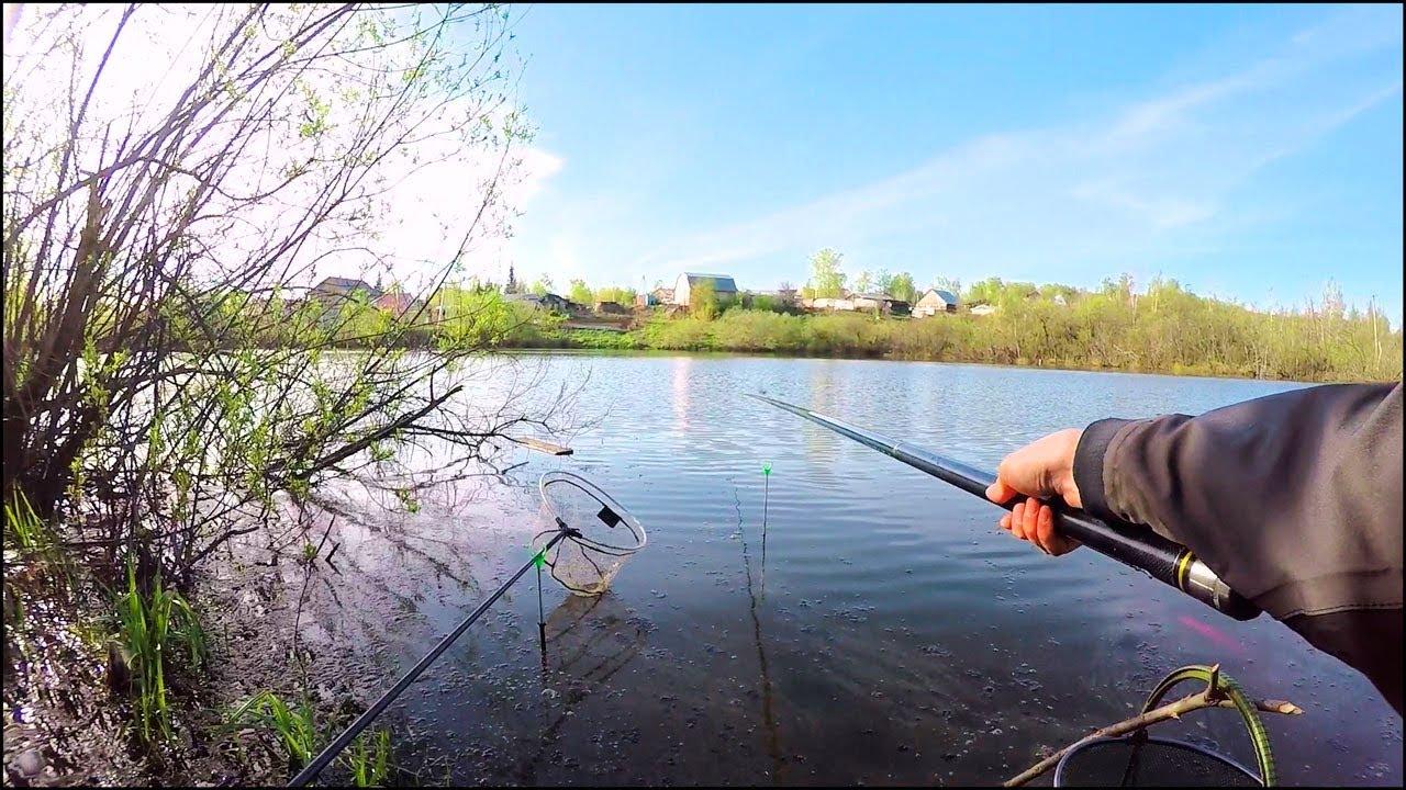 Рыбалка в марте на поплавок